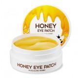Гидрогелевые патчи для глаз с медовой эссенцией Berrisom G9 Skin Honey Hydrogel Eyepatch