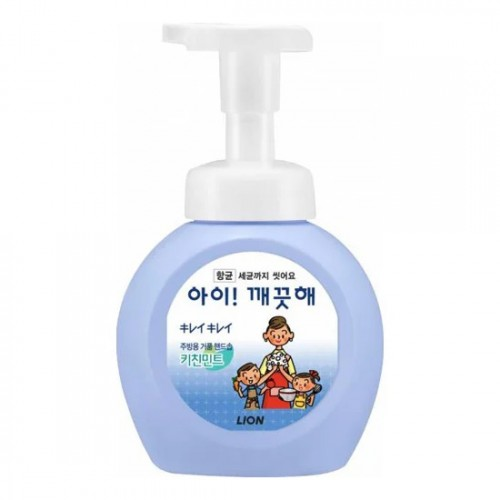 Жидкое мыло-пенка для кухни антибактериальное CJ Lion Foam Hand Kitchen Soap - запасной блок в Иркутске