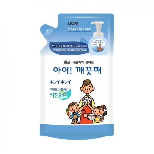 Жидкое мыло-пенка для кухни антибактериальное CJ Lion Foam Hand Kitchen Soap - запасной блок