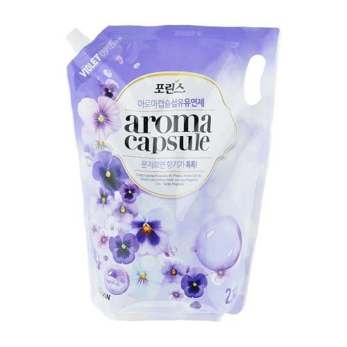 Кондиционер для белья с ароматом фиалки CJ Lion Aroma Capsule Violet Softener - 2100 мл в Иркутске