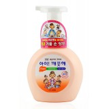 Жидкое мыло-пенка персиковое увлажняющее CJ Lion Foam Hand Peach Soap