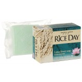Косметическое мыло с экстрактом лотоса CJ Lion Rice Day Lotus Flower Soap