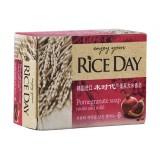 Косметическое мыло с гранатом CJ Lion Rice Day Pomegranate Soap