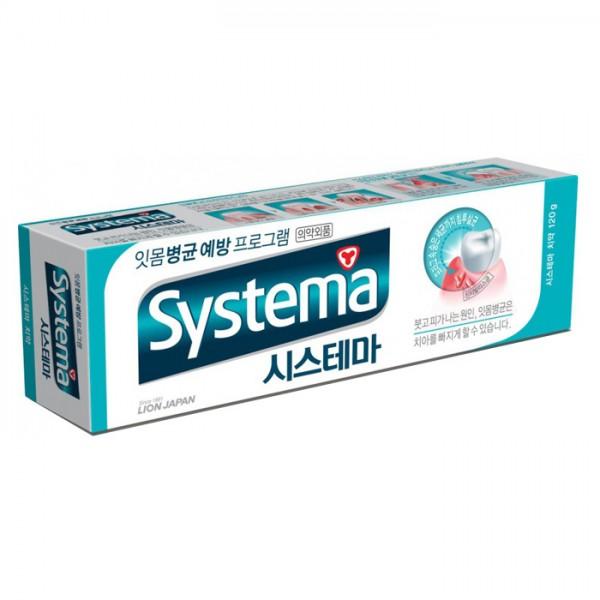 Зубная паста с ароматом ледяной мяты CJ Lion Systema Ice Mint Alpha Toothpaste