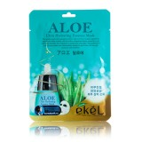 Маска-салфетка для лица с алоэ Ekel Aloe Ultra Hydrating Essence Mask