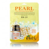 Маска-салфетка для лица с жемчужным порошком Ekel Pearl Ultra Hydrating Essence Mask