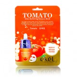 Маска-салфетка для лица с томатом Ekel Tomato Ultra Hydrating Essence Mask