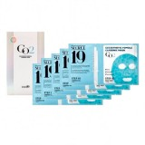 Набор для 5 процедур карбокситерапии Esthetic House Secret19 CO2 Esthetic Formula Carbonic Mask