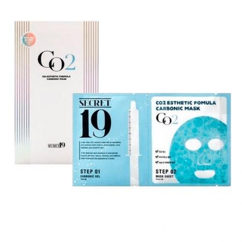 Набор для 1 процедуры карбокситерапии Esthetic House Secret19 CO2 Esthetic Formula Carbonic Mask в Иркутске