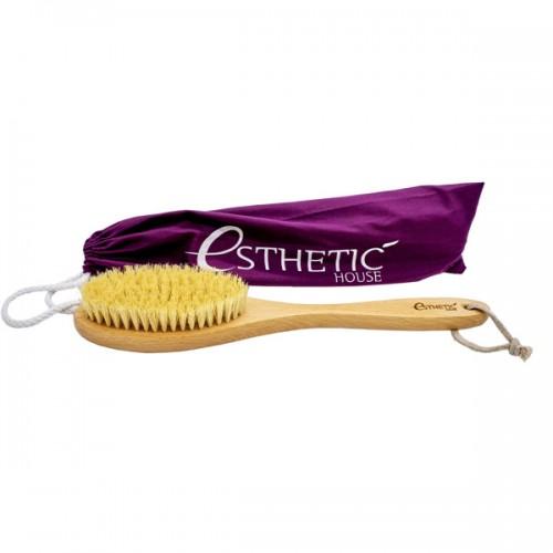 Дренажная щетка для сухого массажа Esthetic House Dry Massage Body Brush