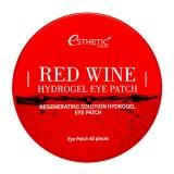 Маска-патч для глаз с красным вином Esthetic House Red Wine Hydrogel Eye Patch