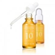 Высококонцентрированная омолаживающая сыворотка с коэнзим Q10 It's Skin Power 10 Formula Q10 Effector