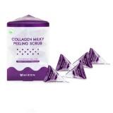 Содовый пилинг-скраб для лица с коллагеном Mizon Collagen Milky Peeling Scrub