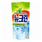 Средство для мытья посуды, фруктов и овощей с алоэ и зеленым чаем Pigeon New Clean 782 мл