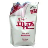 Кондиционер для белья с ароматом розы Pigeon Pink Rose Softener 2100 мл