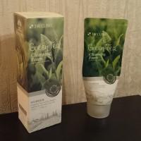 Обзор: Пенка для умывания с натуральными экстрактами 3W Clinic Foam Cleansing - Зеленый чай