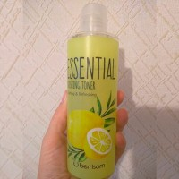 Обзор: Тоник с экстрактом лимона Berrisom Essential Boosting Toner Lemon Calming & Refreshing