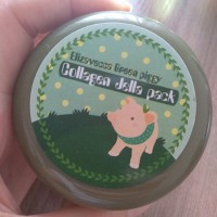 Обзор: Маска-желе с коллагеном Elizavecca Green Piggy Collagen Jella Pack