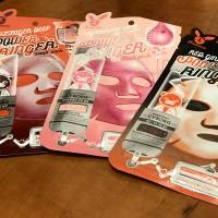 Обзор: Тканевые маски для лица Elizavecca Deep Power Ringer Mask Pack