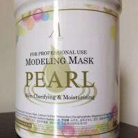Обзор: Альгинатная маска с экстрактом жемчуга Anskin Modeling Mask Pearl