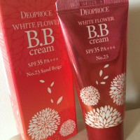 Обзор: BB крем цветочный Deoproce White Flower BB Cream SPF35 PA+++