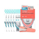 Набор из 5 масок для коррекции контура лица + бандаж Scinic 44 Face Making Kit