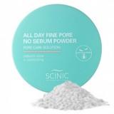 Рассыпчатая прозрачная матирующая пудра Scinic All Day Fine Pore No Sebum Powder
