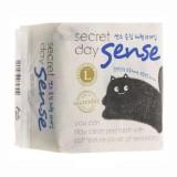 Ультратонкие гигиенические прокладки удлиненные Secret Day Sense L