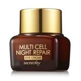 Ночной крем для век на фито-стволовых клетках Secret Key Multi Cell Night Repair Eye Cream