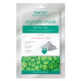 Альгинатная маска против акне с чайным деревом и цинком Shary Alginate Mask Tea Tree + Zinc