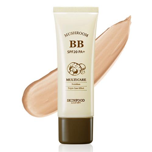 BB крем с экстрактом грибов SkinFood Mushroom Multi Care BB Cream SPF20/PA+ в Иркутске