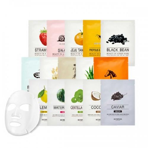 Маска-салфетка для лица Skinfood Beauty In A Food Mask Sheet