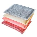 Набор губок для мытья посуды Sungbo Cleamy Save Scrubber - 4 шт