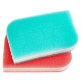 Набор губок для мытья посуды Sungbo Cleamy Triple Filter Scrubber - 2 шт
