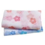 Мочалка для душа Sungbo Cleamy Clean & Beauty White Pattern Shower Towel