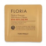 ПРОБНИК Крем для лица энергетический с маслом арганы Tony Moly Floria Nutra-Energy 100 Hours Cream