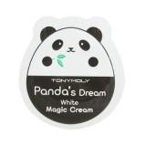 ПРОБНИК Отбеливающий крем для лица Tony Moly Panda's Dream White Magic Cream