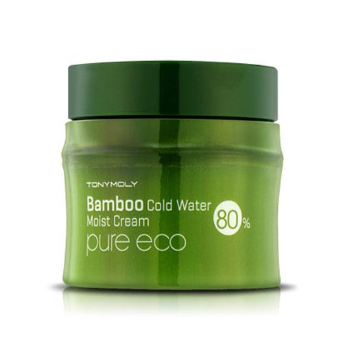 Охлаждающий увлажняющий крем с экстрактом бамбука Tony Moly Pure Eco Bamboo Cold Water Moisture Cream в Иркутске