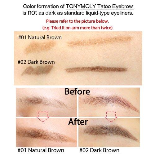 Водостойкие тату брови 7 Days Tatoo Eyebrow